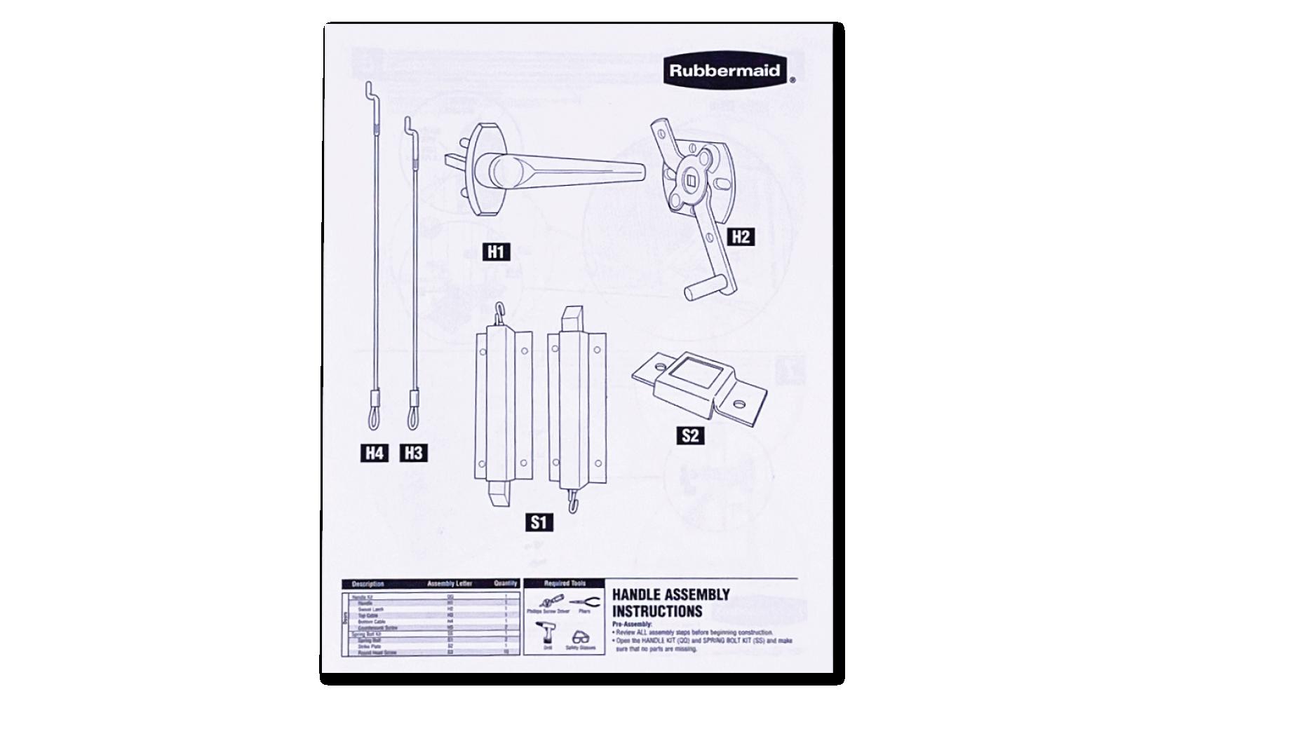 Instruction Sheets